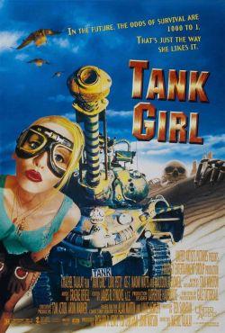 Odlotowa dziewczyna / Tank Girl