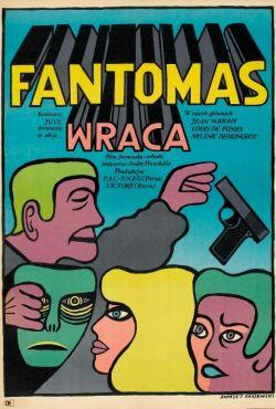 Fantomas powraca / Fantômas se déchaîne