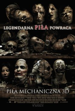 Piła mechaniczna 3D / Texas Chainsaw 3D