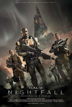 Halo Zmrok / Halo Nightfall Movie