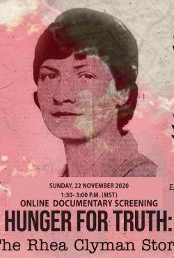 Głód prawdy / Hunger for Truth: The Rhea Clyman Story